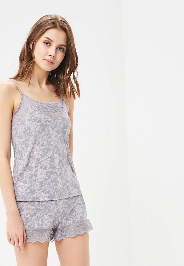 Купить Женский халат или пижаму Deseo серого цвета