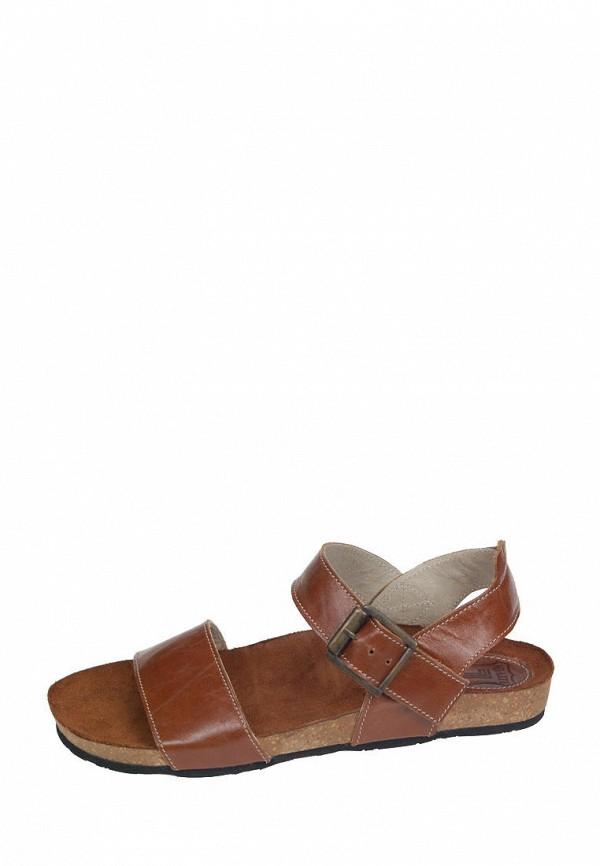 женские сандалии litvin, коричневые