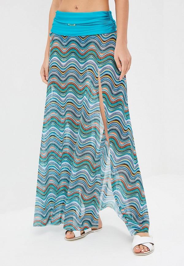 женская юбка charmante, бирюзовая