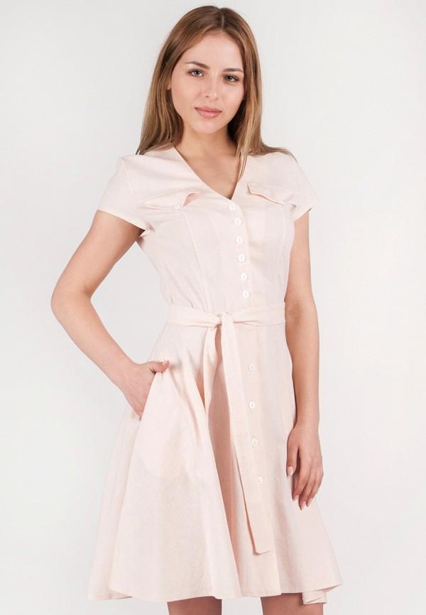 женское платье vergans, розовое