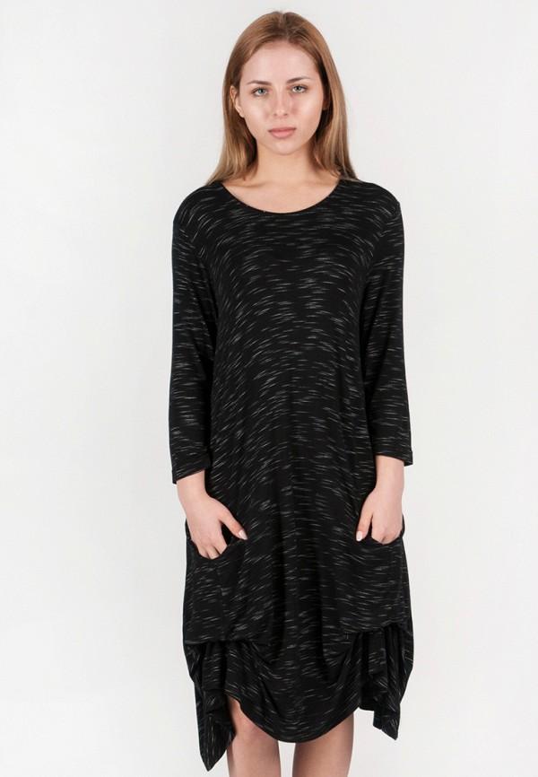 женское повседневные платье vergans, черное