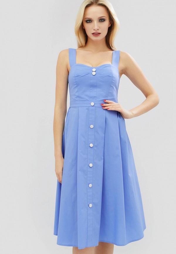 Купить Платье Cardo, mp002xw15k9h, голубой, Весна-лето 2018