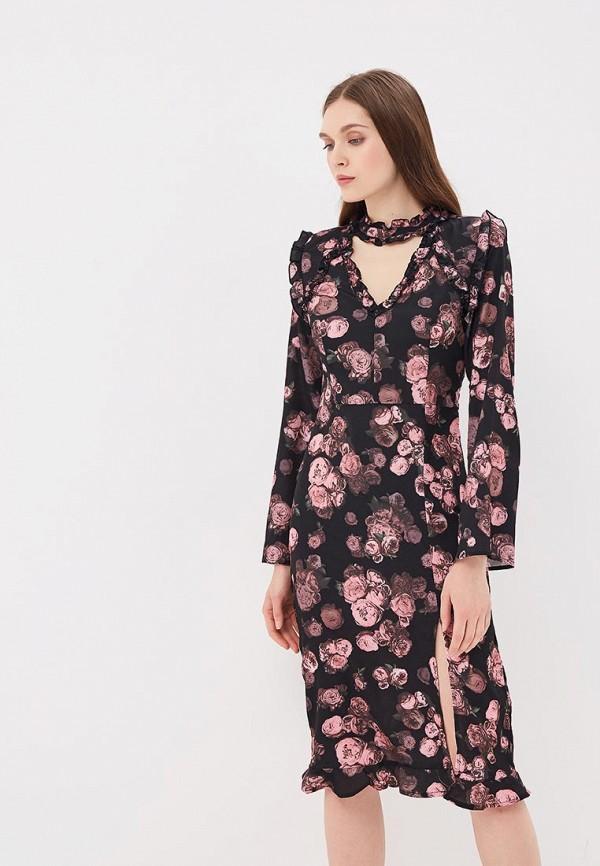 Платье Incity Incity MP002XW15KQQ платье incity цвет черный белый