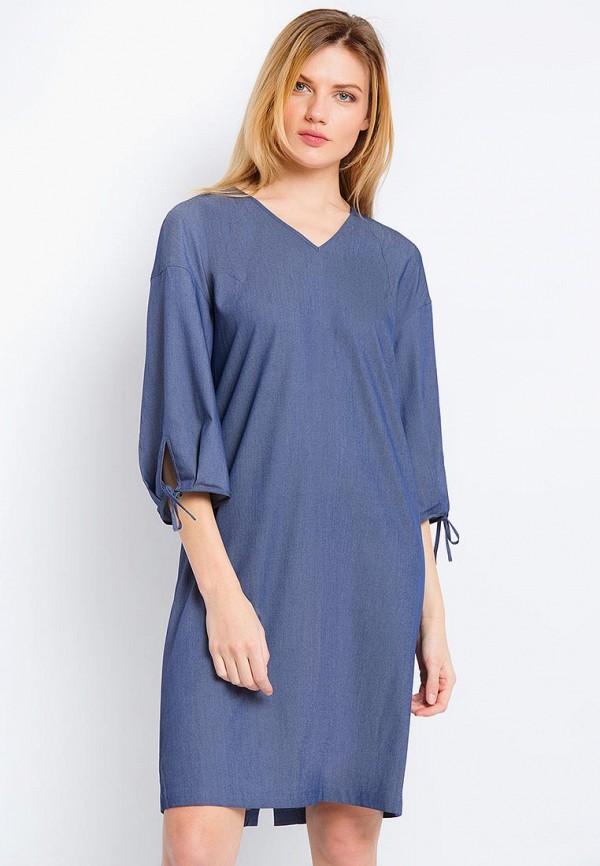 Купить Платье Finn Flare, CHAPURIN for FINN FLARE, mp002xw15kwf, синий, Весна-лето 2018