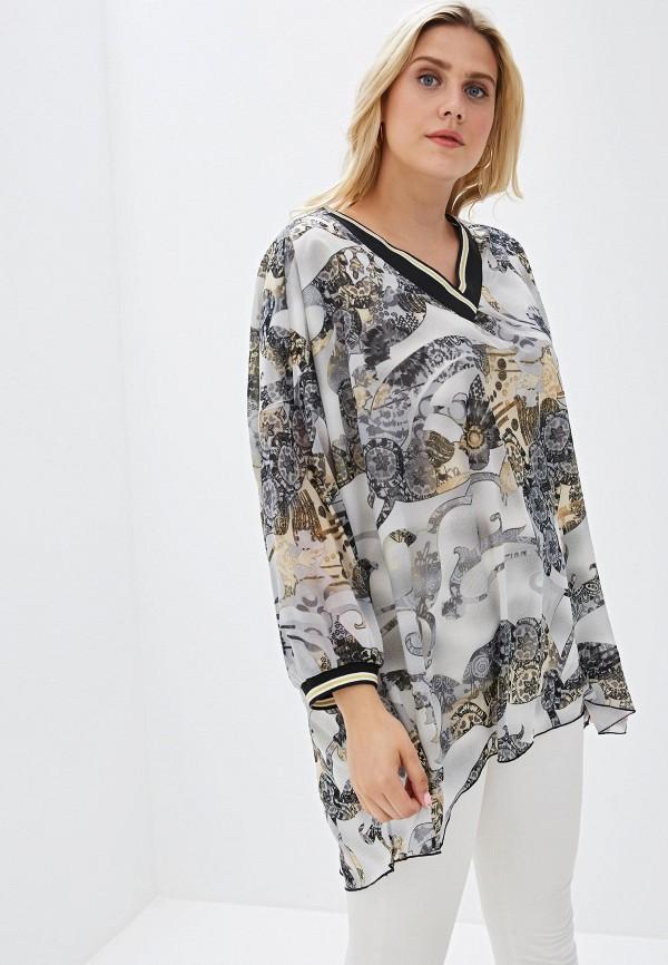 Фото - Женскую тунику Luxury Plus серого цвета