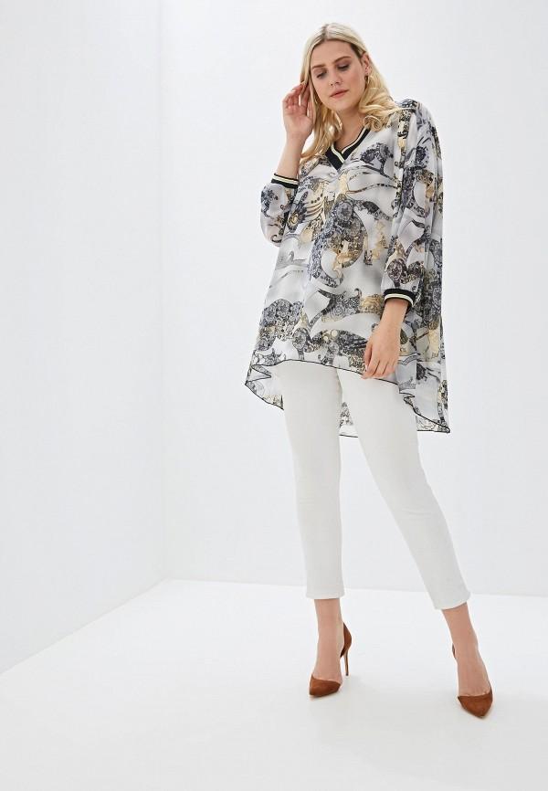 Фото 2 - Женскую тунику Luxury Plus серого цвета