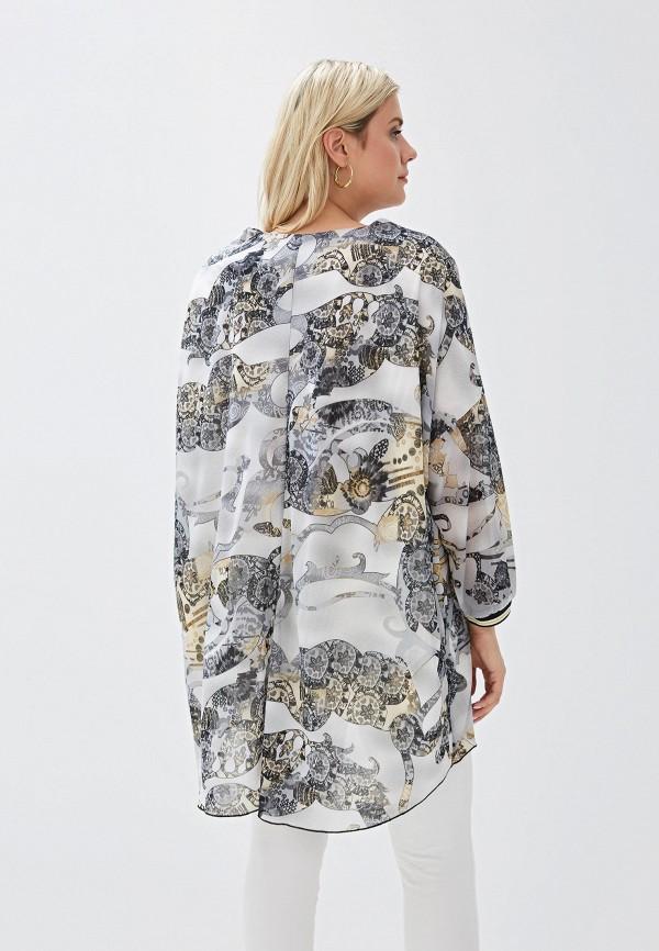 Фото 3 - Женскую тунику Luxury Plus серого цвета