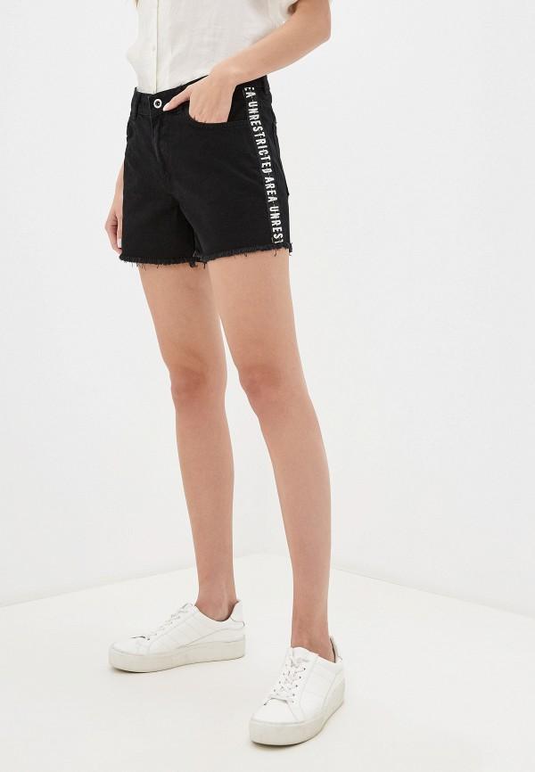 женские шорты lc waikiki, черные