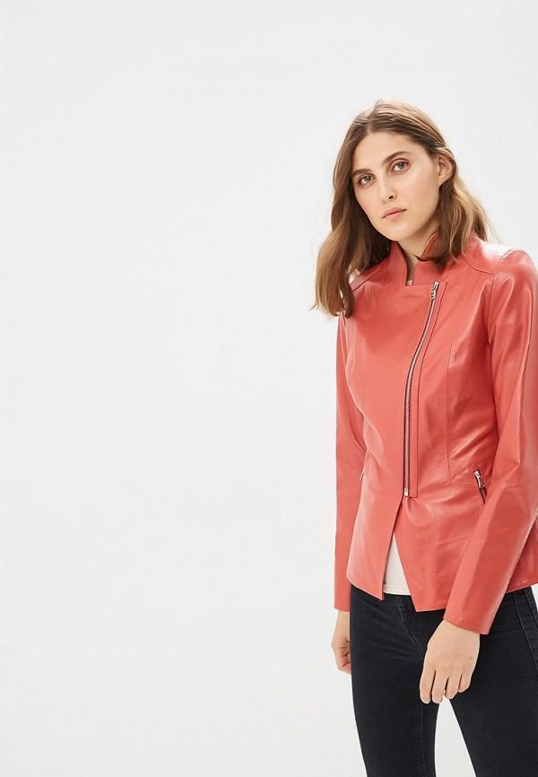 Купить Куртка кожаная Grafinia, MP002XW167U5, коралловый, Весна-лето 2017