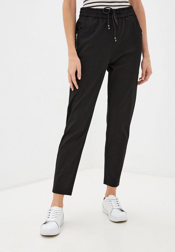 женские брюки джоггеры forza viva, черные