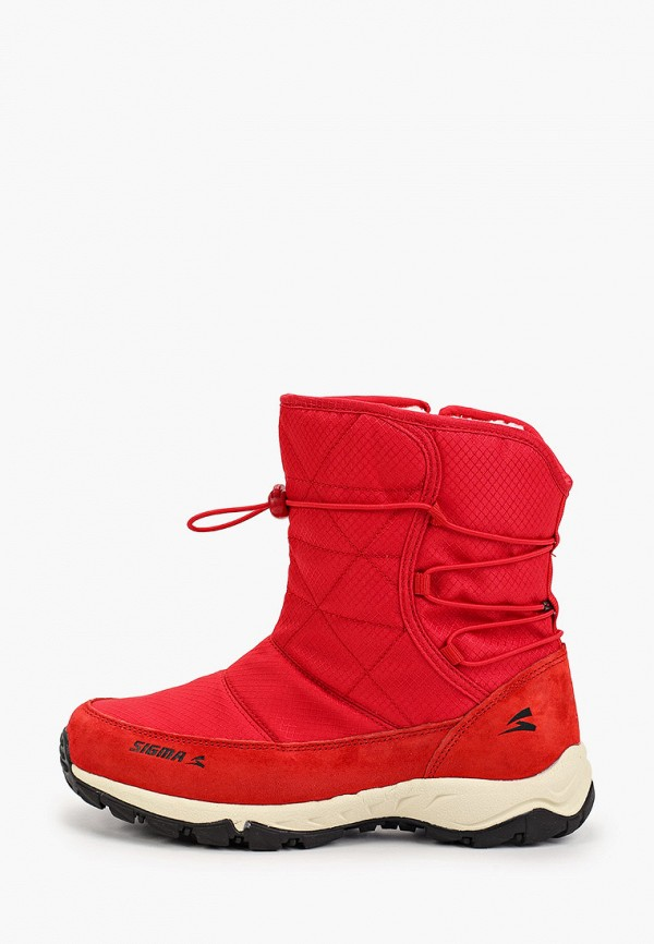 Дутики Sigma Sigma MP002XW16DME дутики детские demar frost цвет красный черный 0376 b размер 30 31