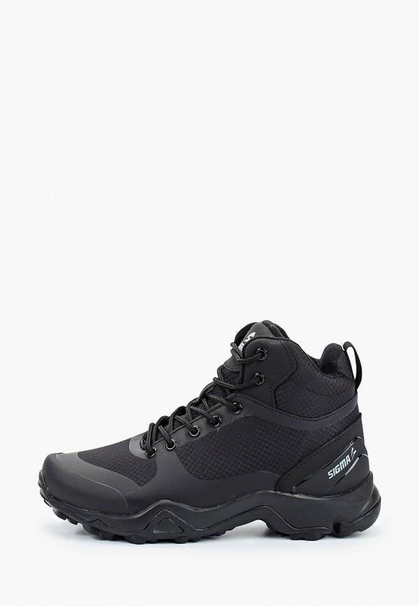 Купить Ботинки Sigma черного цвета