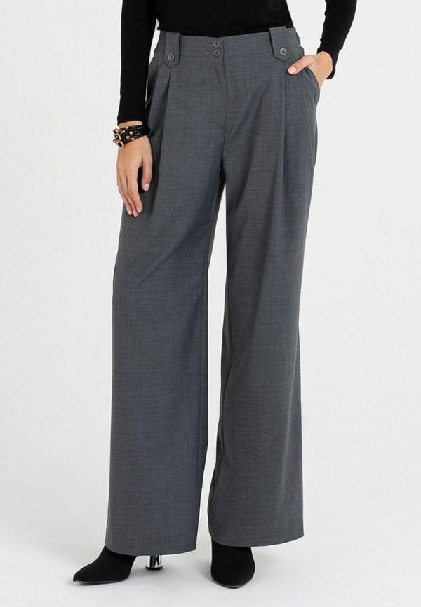 женские классические брюки petit pas, серые