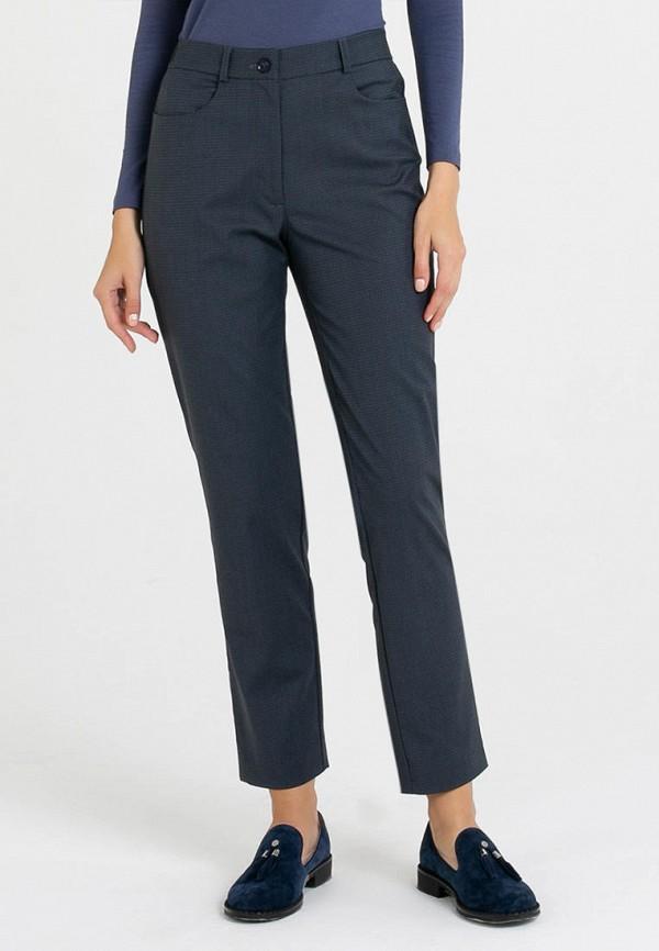 женские классические брюки petit pas, синие