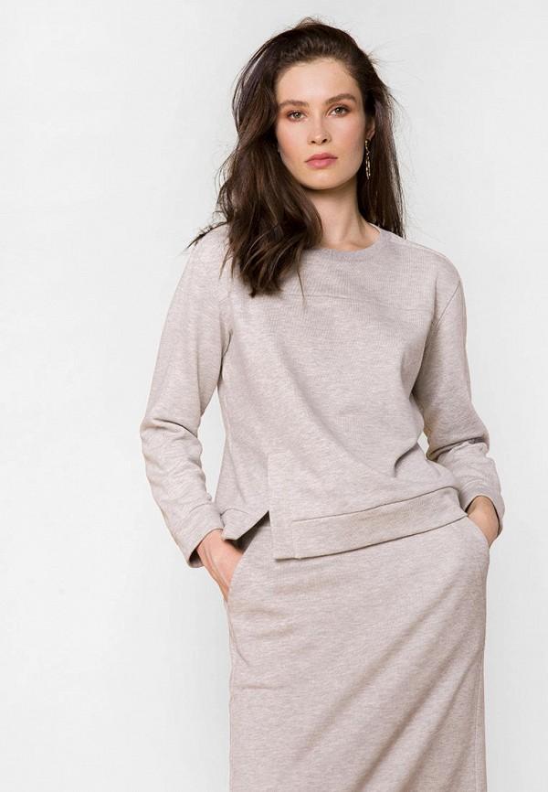 женский свитшот mr520, серый