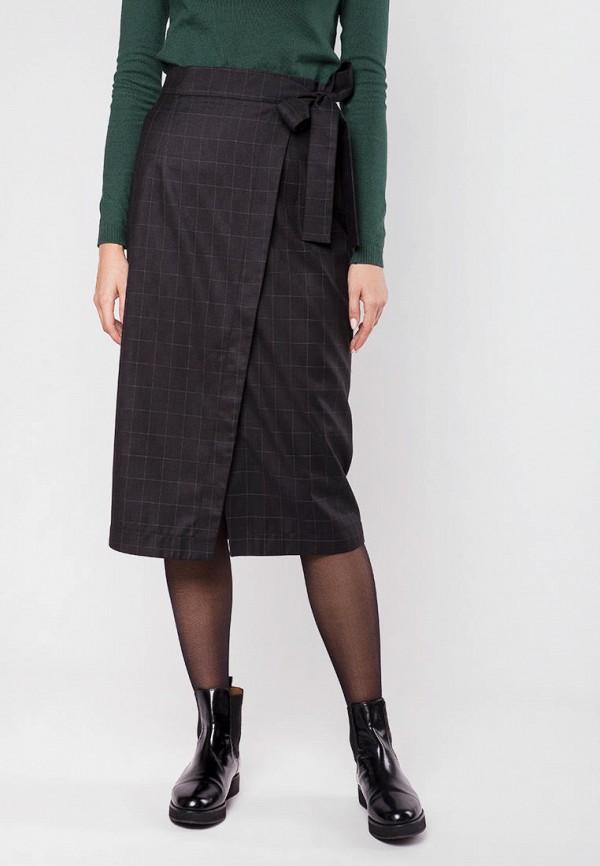 женская прямые юбка mr520, черная