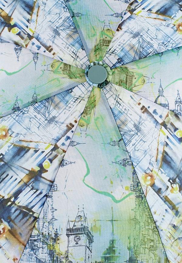 Фото 3 - Зонт складной Eleganzza зеленого цвета