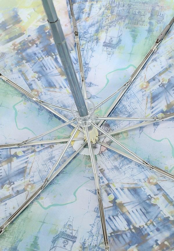 Фото 4 - Зонт складной Eleganzza зеленого цвета