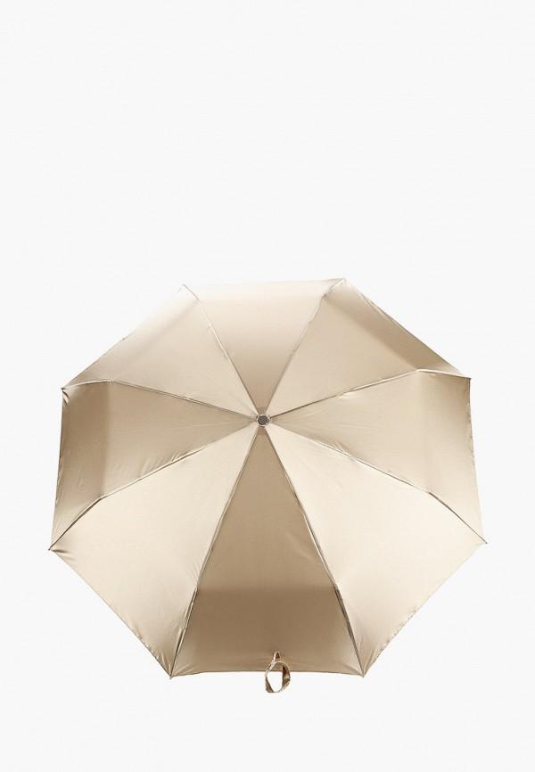 женский складные зонт eleganzza, золотой