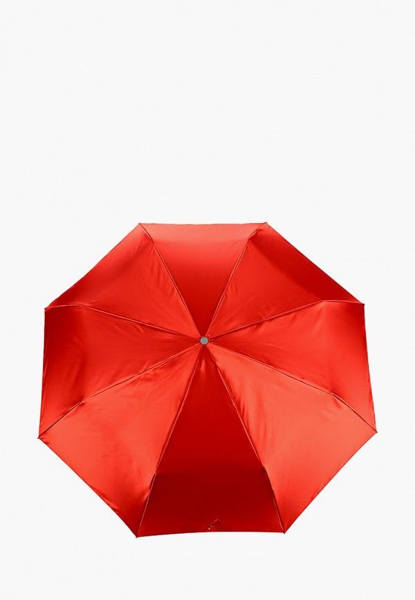 женский складные зонт eleganzza, красный