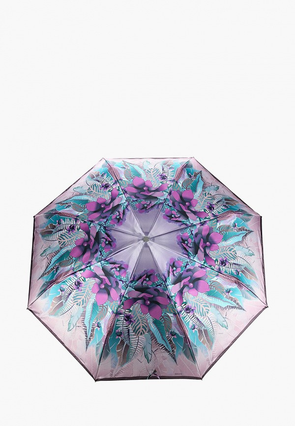 Фото - Зонт складной Eleganzza фиолетового цвета