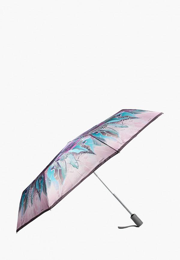 Фото 2 - Зонт складной Eleganzza фиолетового цвета