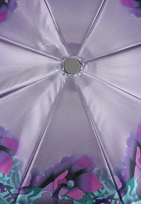 Фото 3 - Зонт складной Eleganzza фиолетового цвета