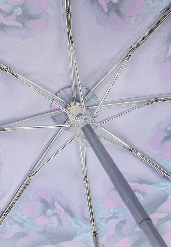 Фото 4 - Зонт складной Eleganzza фиолетового цвета