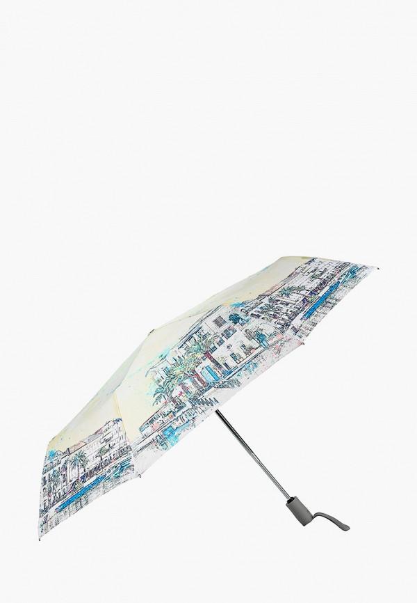 Фото 2 - Зонт складной Eleganzza разноцветного цвета
