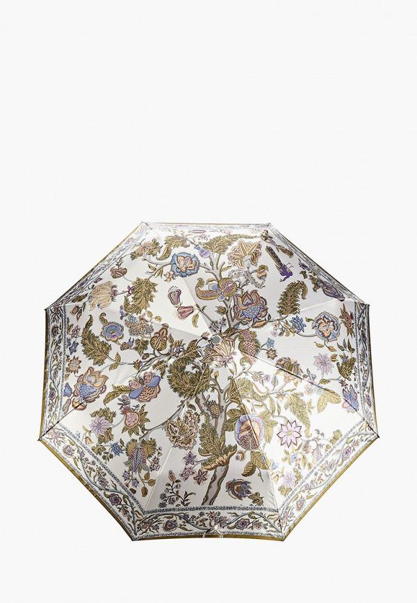 Фото - Зонт складной Eleganzza белого цвета