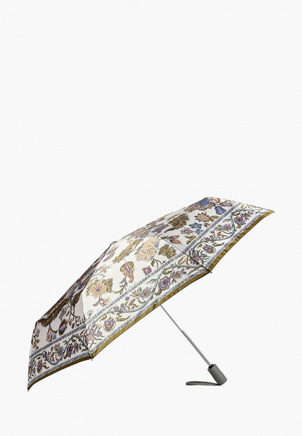 Фото 2 - Зонт складной Eleganzza белого цвета