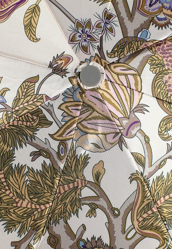 Фото 3 - Зонт складной Eleganzza белого цвета