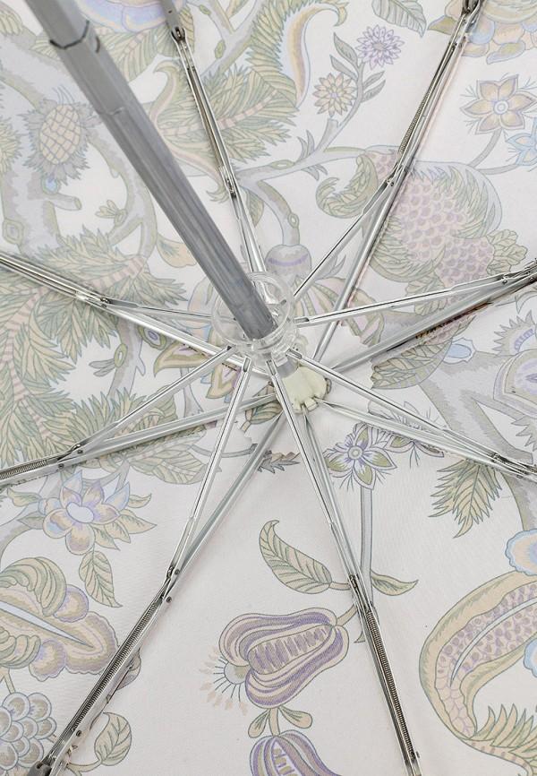 Фото 4 - Зонт складной Eleganzza белого цвета