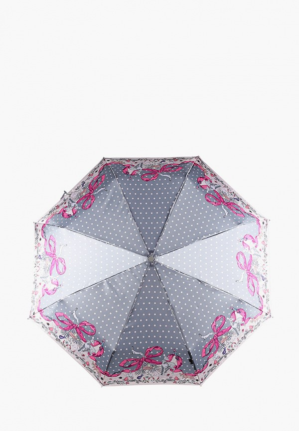 Фото - Зонт складной Eleganzza серого цвета