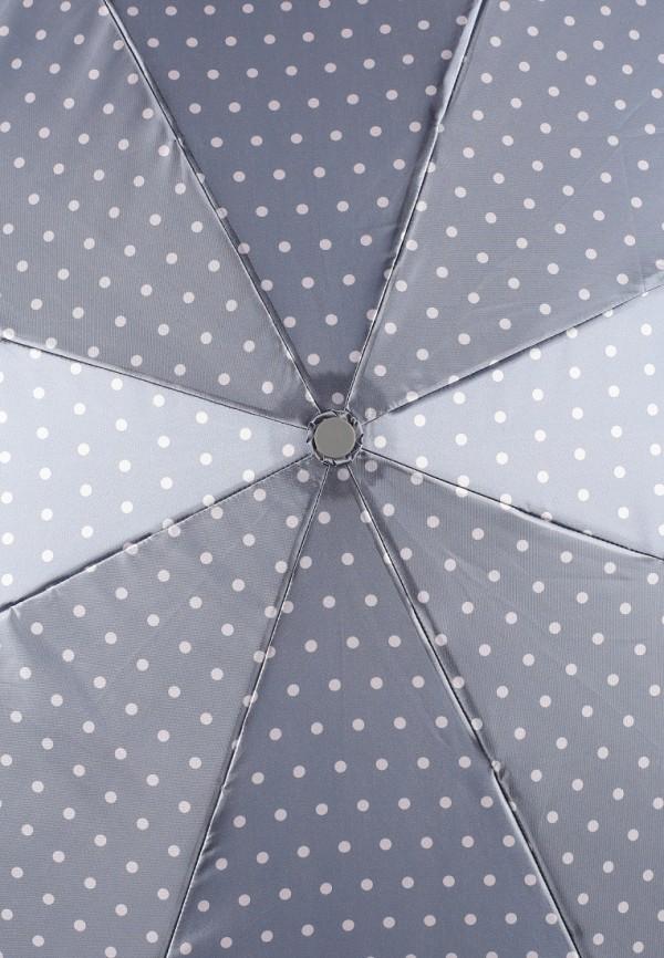 Фото 3 - Зонт складной Eleganzza серого цвета