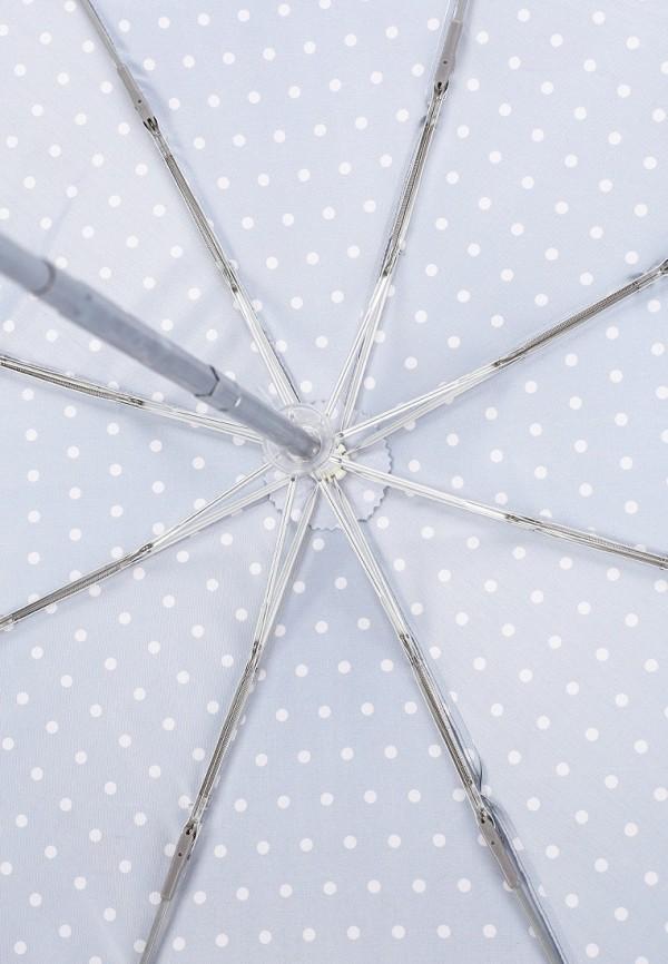 Фото 4 - Зонт складной Eleganzza серого цвета
