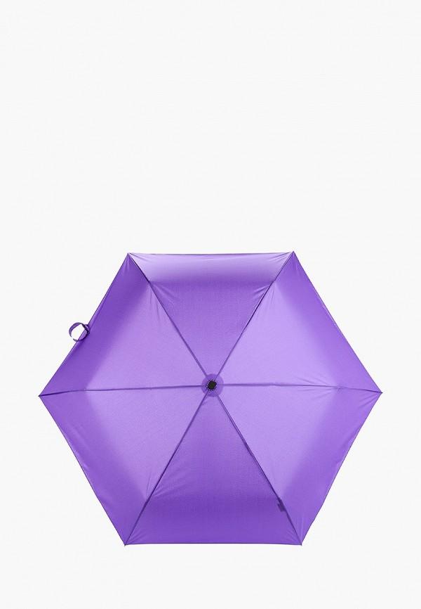 женский складные зонт labbra, фиолетовый