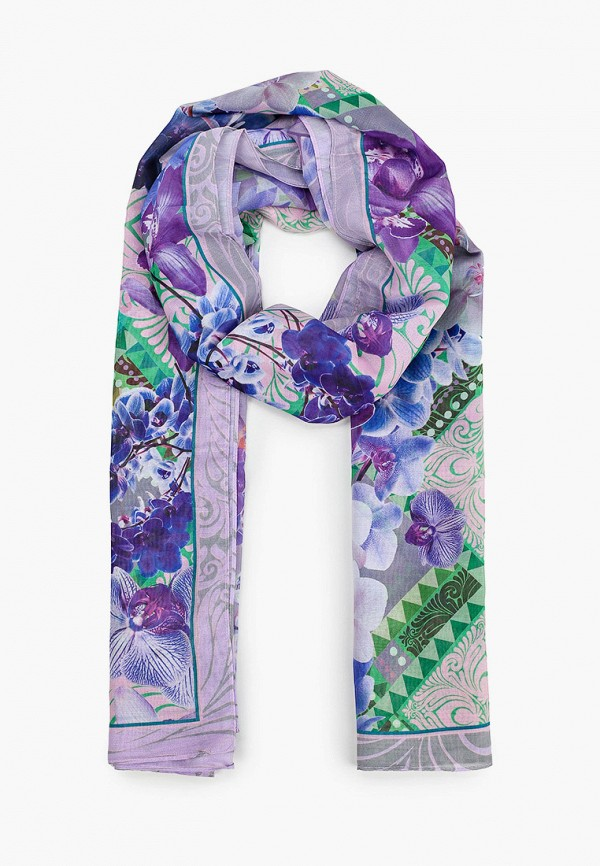женский палантин eleganzza, фиолетовый