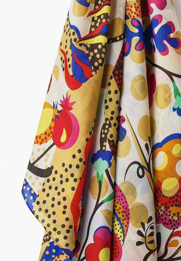 Фото 2 - Женский платок Eleganzza разноцветного цвета