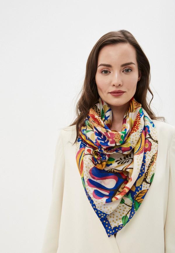 Фото 3 - Женский платок Eleganzza разноцветного цвета