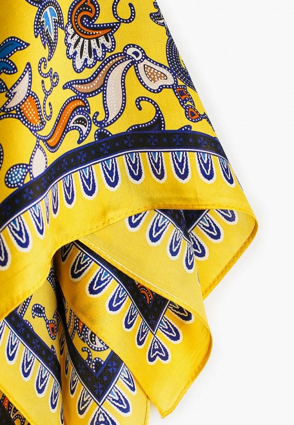 Фото 2 - Женский платок Eleganzza желтого цвета