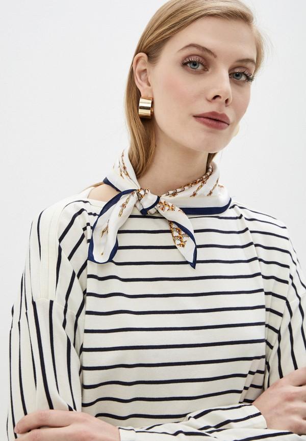 Фото 3 - Женский платок Eleganzza белого цвета