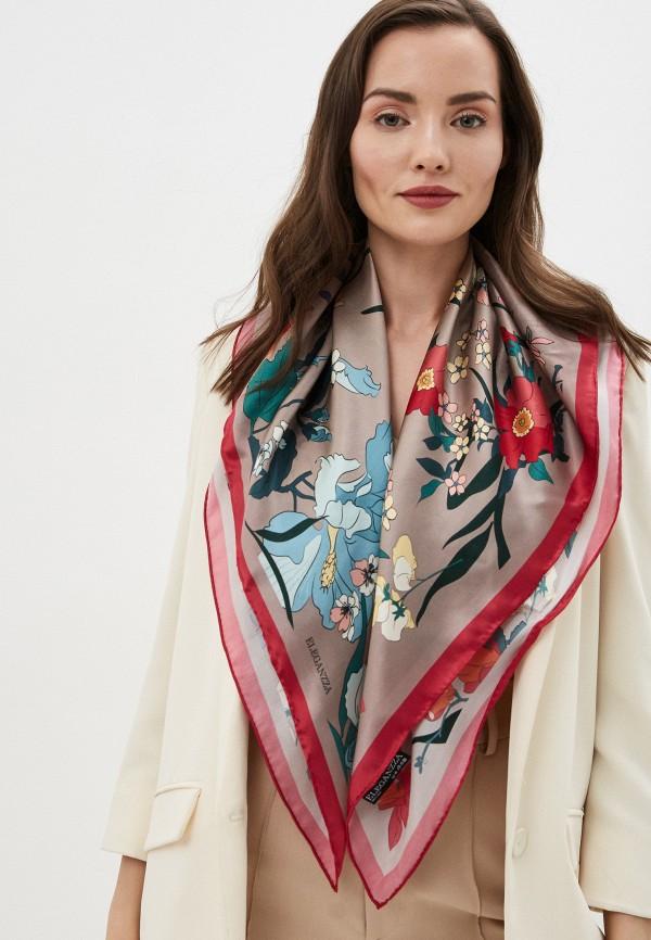 Фото 3 - Женский платок Eleganzza коричневого цвета
