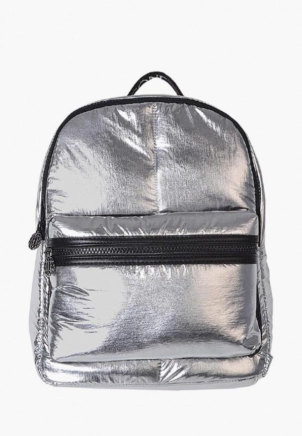 женский рюкзак icone, серебряный