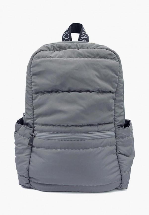 женский рюкзак icone, серый