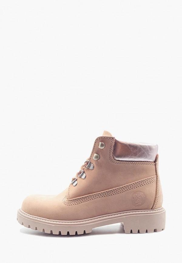 женские ботинки darkwood, розовые