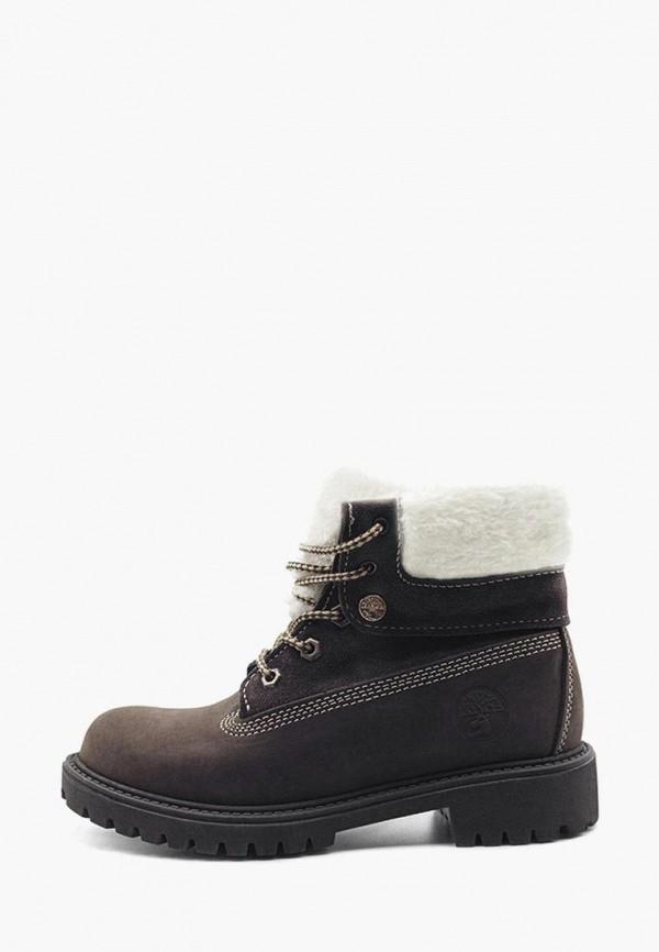 женские ботинки darkwood, коричневые