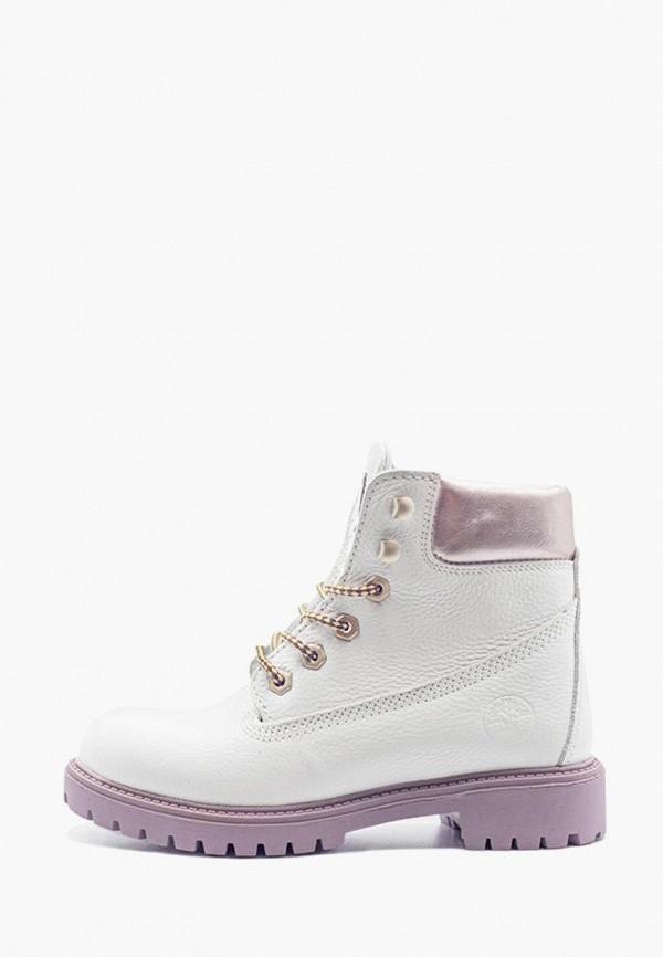 женские ботинки darkwood, белые