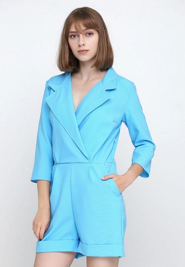 женский комбинезон подіум, голубой