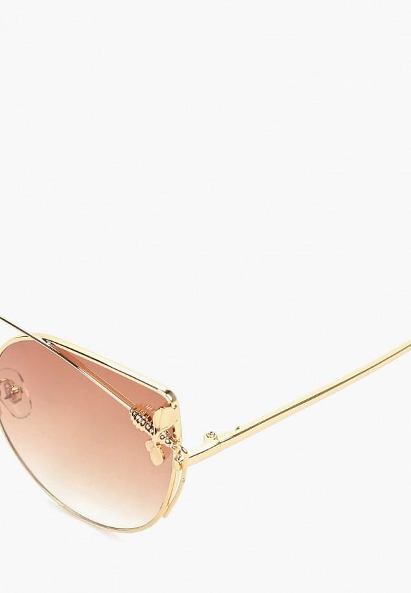 Очки солнцезащитные Bacio Bella цвет золотой  Фото 2